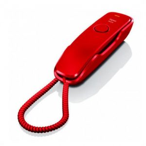 TELEFONO FIJO GIGASET DA210 ROJO