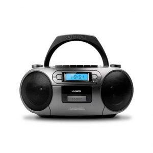 RADIO CD-CASETE AIWA BOOMBOX BBTC550MG GRIS