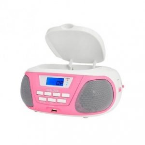 RADIO CD AIWA BOOMBOX BBTU300PK ROSA BLUETOOTH